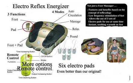 Electro Reflex Energizer Chi Machine                     International