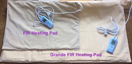 FIR Heating                     Pad two sizes