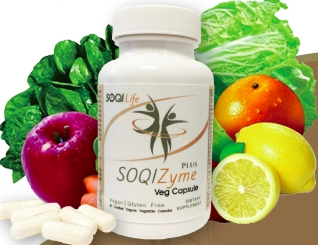 SOQIZyme dietary                     supplement